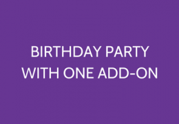 Kid's Party With Single Add-on