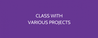 Class With Various Projects