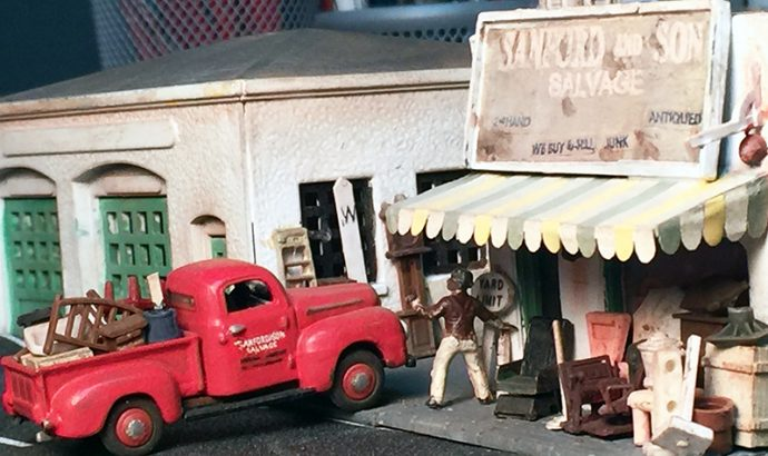 Sanford and Son model pickup truck