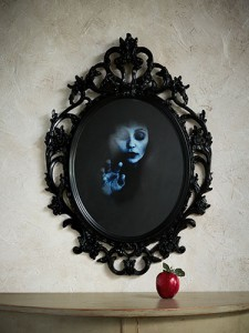 ghostly mirror image