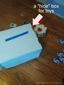 hide box for toys