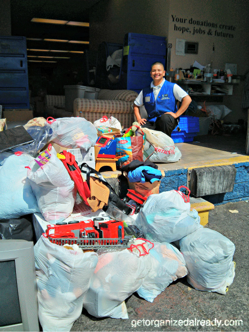 Toy clutter donated