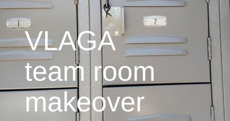 Team Room makeover at Vernon Lee Amateur Gymnastics Academy, Pasadena