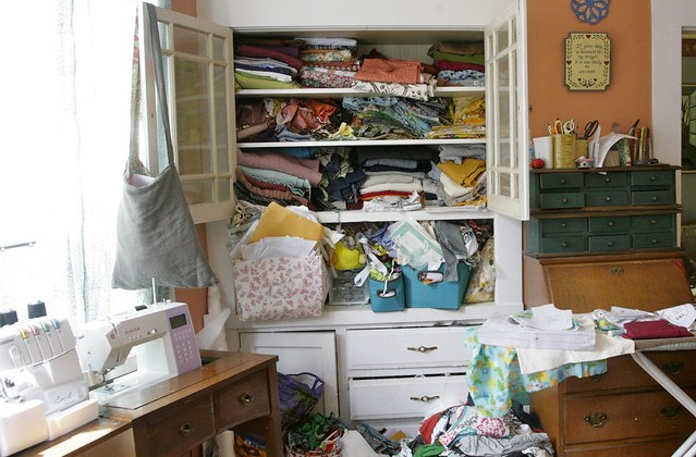 Advice for living with a disorganized person
