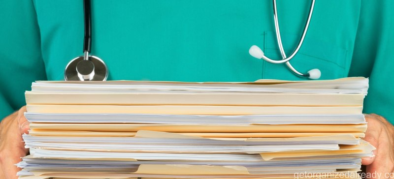 How to organize medical paperwork