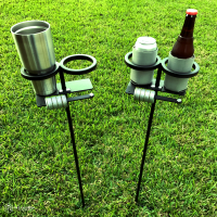 Outdoor Beverage Holder Stand