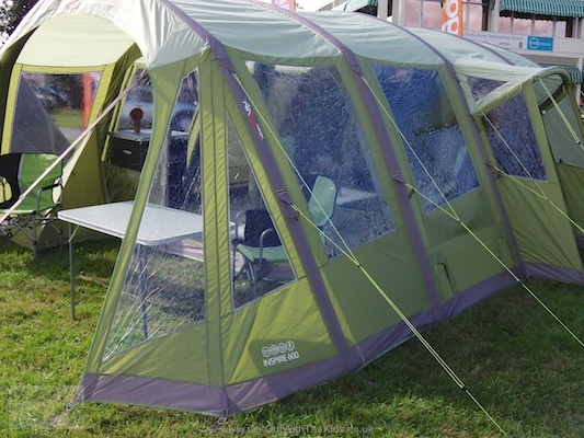 Vango Inspire - AirBeam Family Tent & Hi Gear Corado 8 - An 8 person 4 bedroom massive family tent