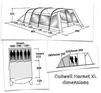 Outwell Hornet XL Review - Simplifying Family Camping ...