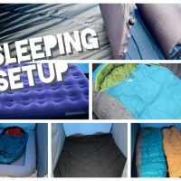 How to best setup your family tent for sleeping