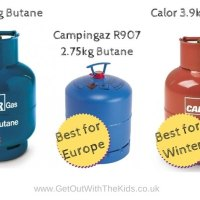 Choosing a gas cylinder for camping - Which one is best?