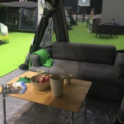 Camping Sofa Uk Lugnvik Bed With Chaise Lounge Review Caravan And Motorhome Show Highlights