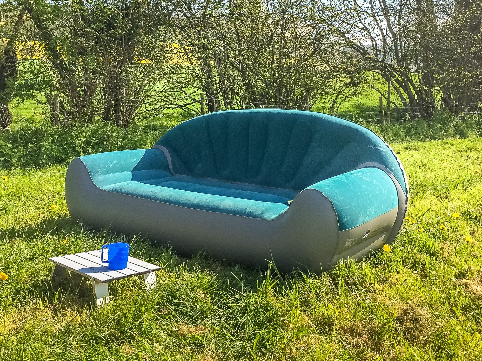 camping sofa uk most comfortable bed 2017 taking the