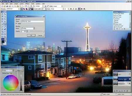 Paint .NET Screenshot