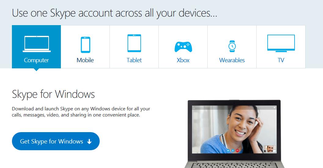 Download skype video calling app