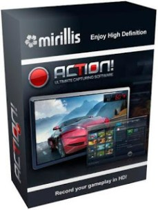 mirillis action not recording audio