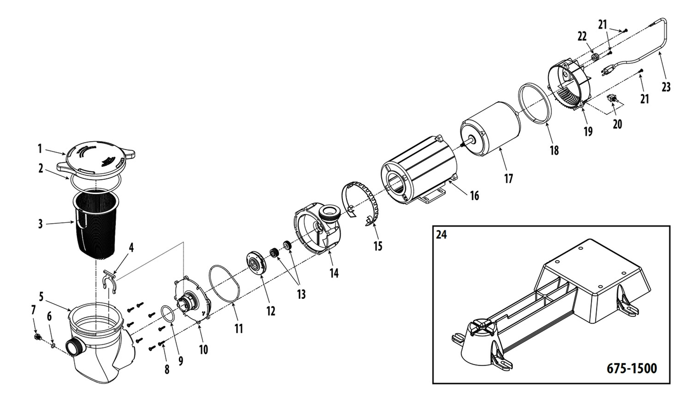 Waterway Supreme Csa Pump Parts