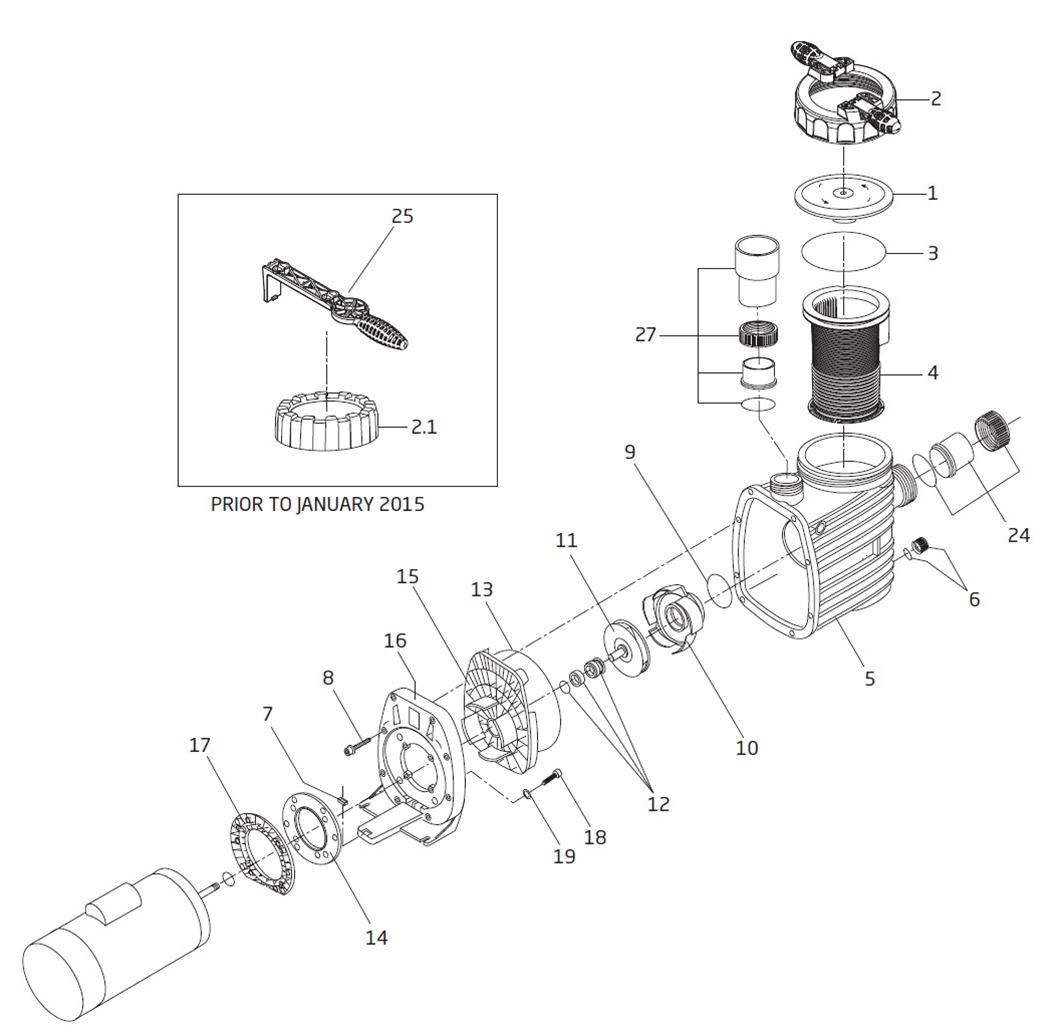 Speck Model S90 Pump Parts