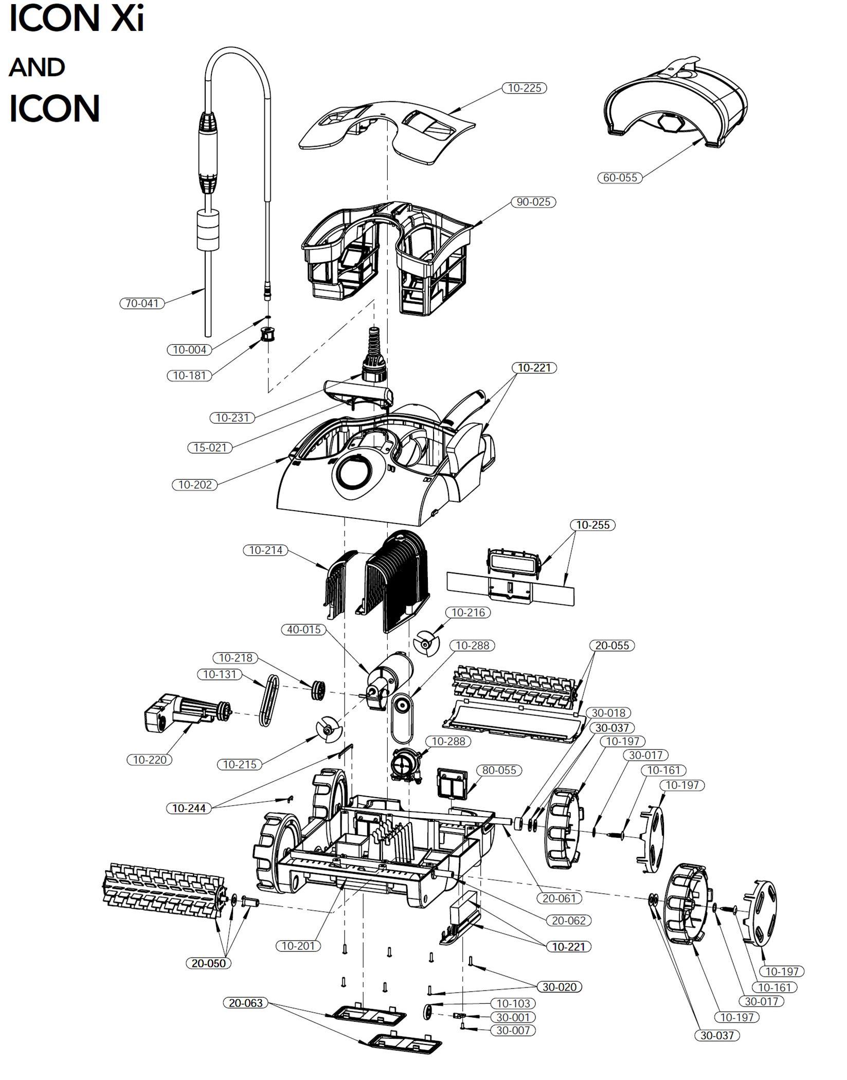Aquabot Turbo Parts List
