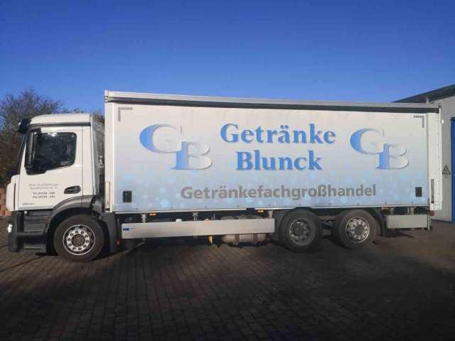 LKW Getränke Blunck