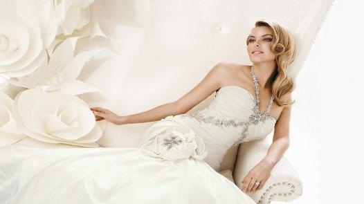 Wedding white dressing bridal Las Vegas Wedding Makeup and Hair