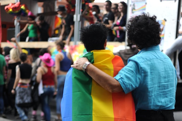 45 years after the first Pride march, Gay Pride still faces backlash, not only from those who don't belong to the LGBT community, but also from within. Credits: Guillaume Paumier via CreativeCommons
