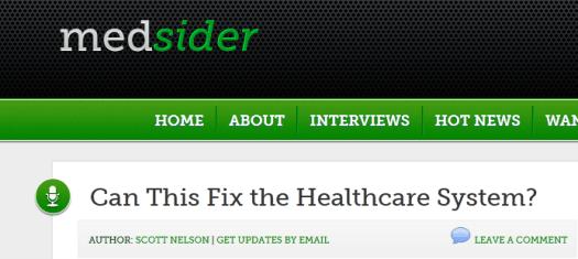 Medsider CEO Interview from Jonathan Govette on our Broken Referral System -  Medsider.com