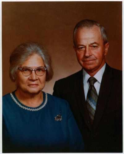 My grandparents, Lola and Noah