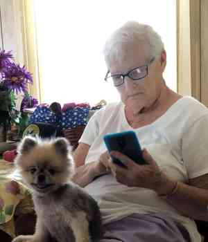 Even older people can use technology to increase their income.