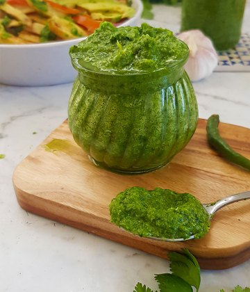 EASY CORIANDER SAUCE FOR EVERYTHING