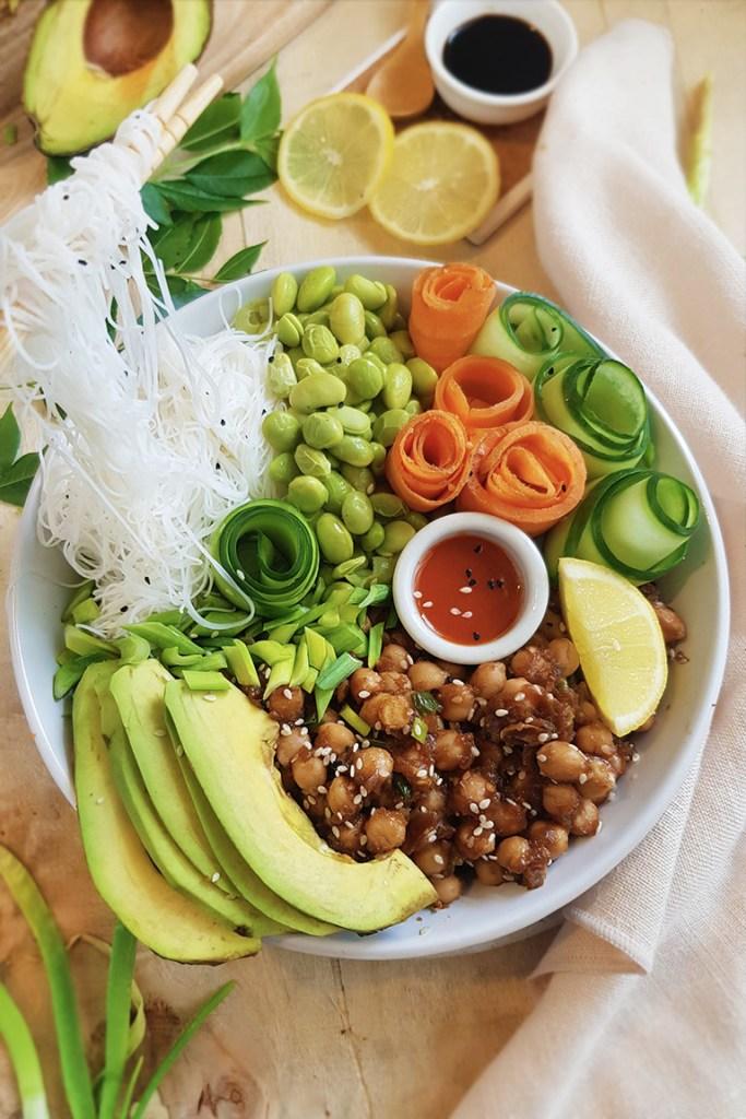 Easy vegan poke bowl Recipe