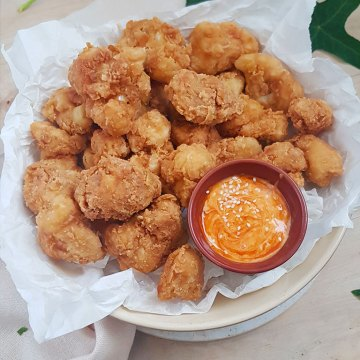 SUPER CRISPY RECIPE FOR FRIED CAULIFLOWER