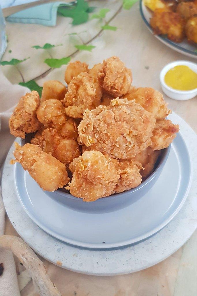crispy crumble of fried cauliflower