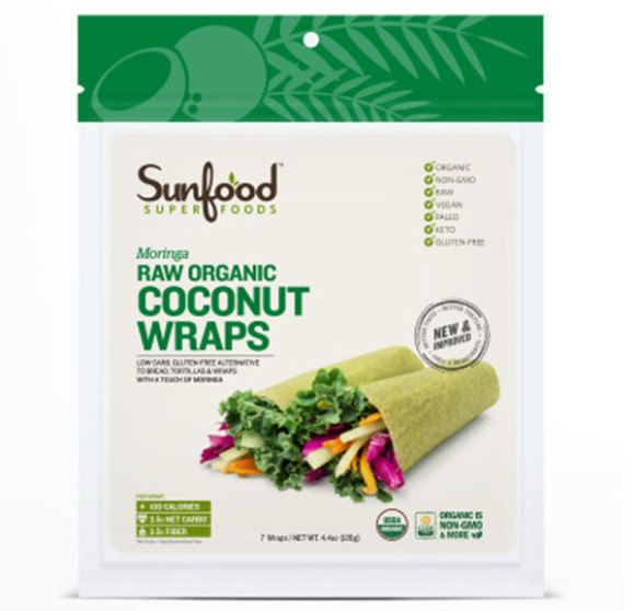 Sun Food Super Foods Coconut Wraps