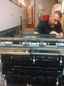 copier technician sims business systems