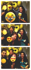 photo booth happy emoji sims business systems