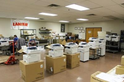 sims shop lanier ricoh printers mfp