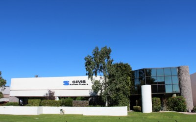 tempe arizona sims business systems front