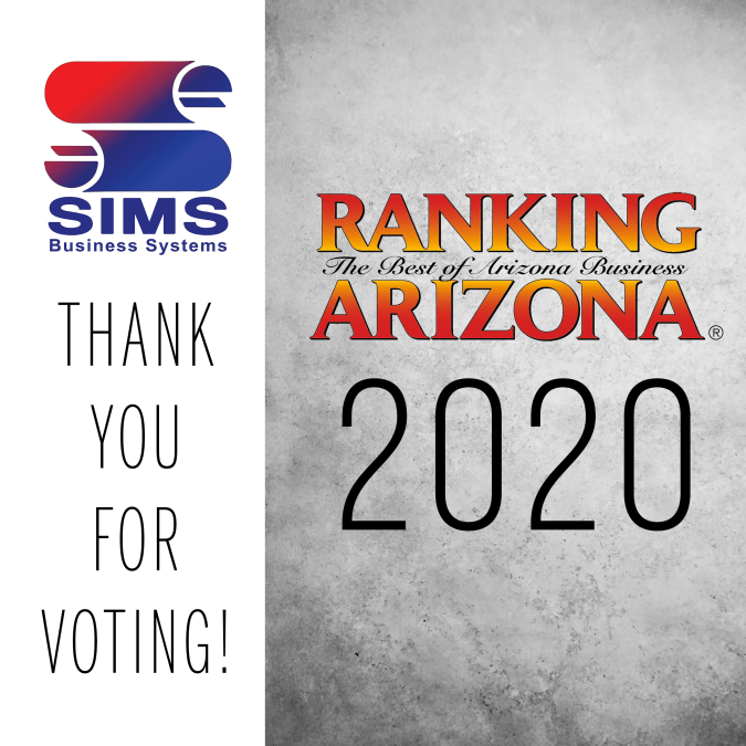 Thank You for Voting for SIMS!