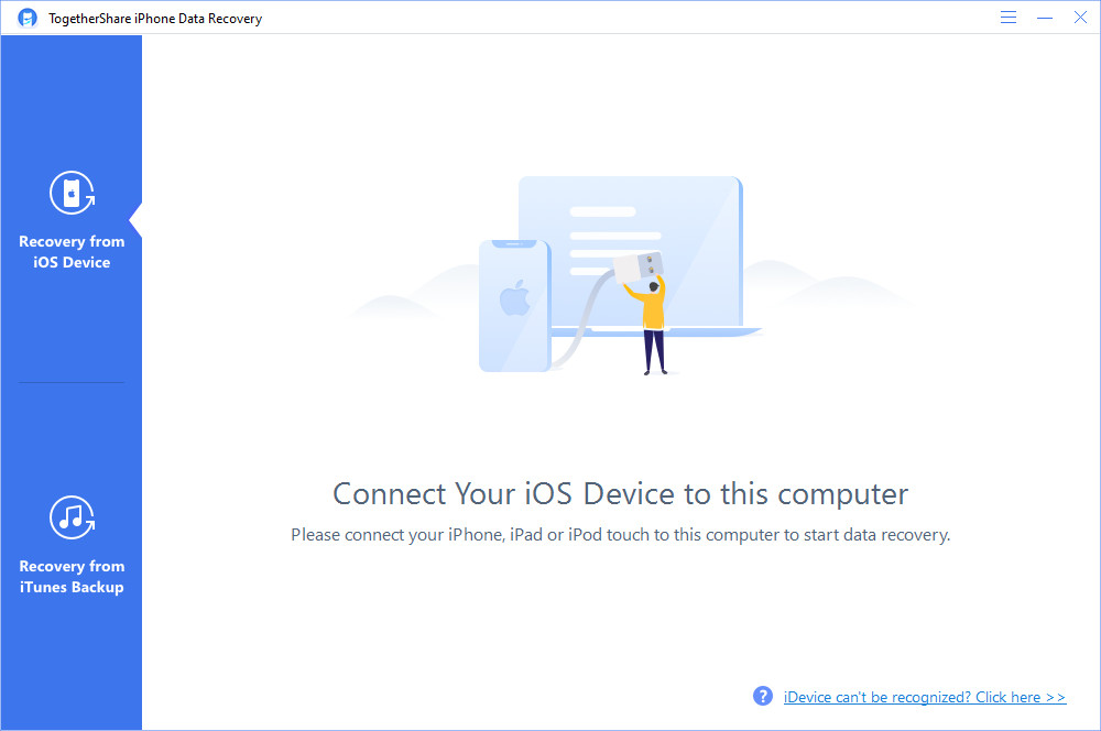 TogetherShare iPhone Data Recovery Crack Serial Key