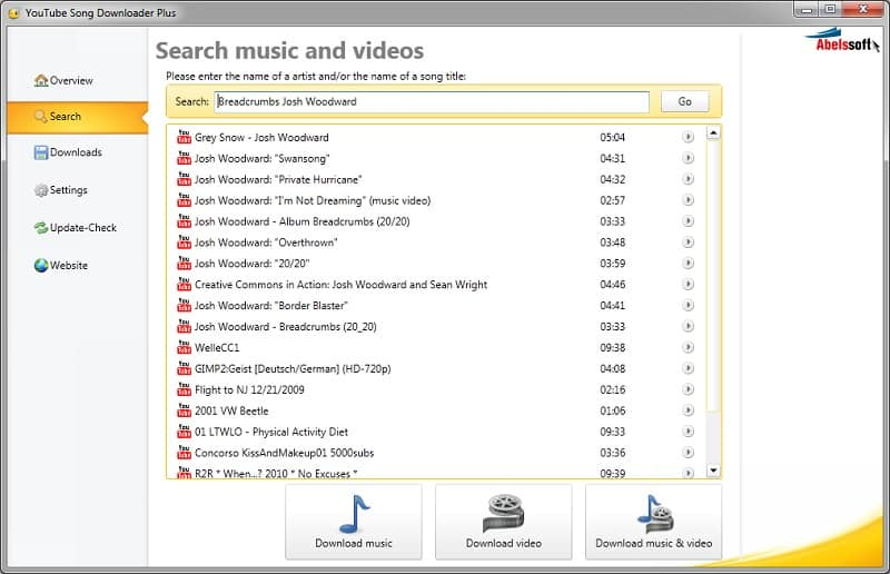 Abelssoft YouTube Song Downloader Crack Serial Key