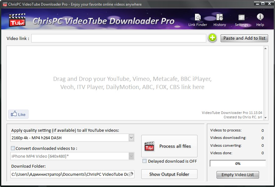 ChrisPC VideoTube Downloader Pro Crack Key