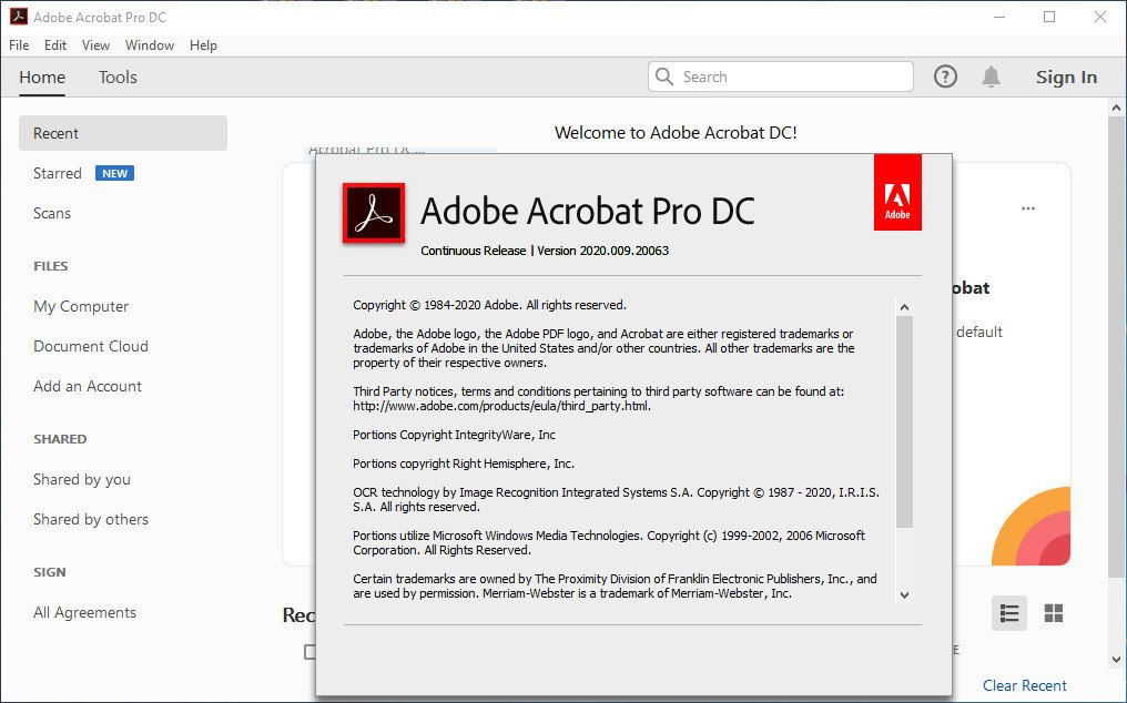 Adobe Acrobat Pro DC Crack Serial Key