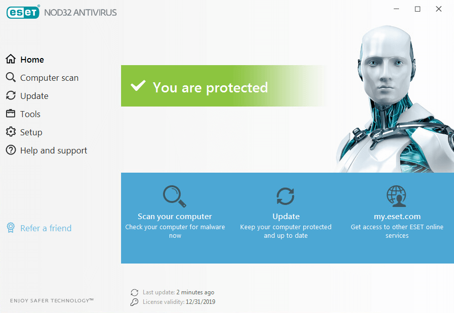ESET NOD32 Antivirus Crack Serial Key
