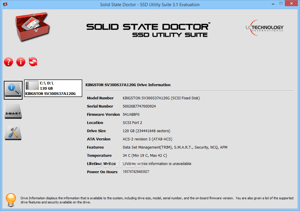 LC Technology Solid State Doctor Crack Serial Key