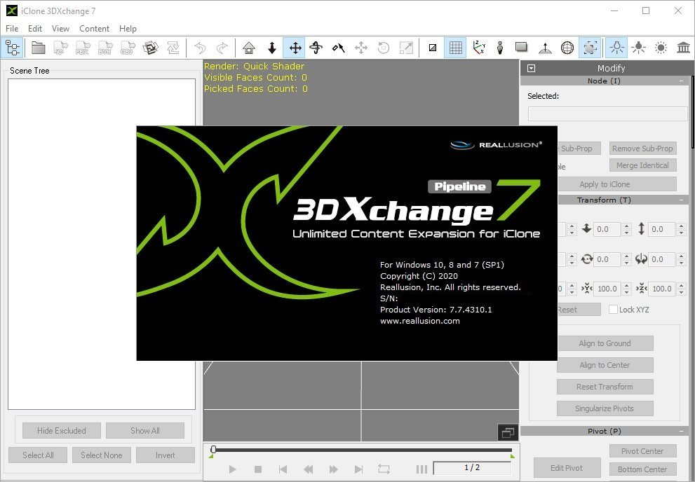 Reallusion iClone 3DXchange Crack Serial Key