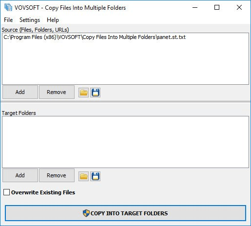 VovSoft Copy Files Into Multiple Folders Serial Key