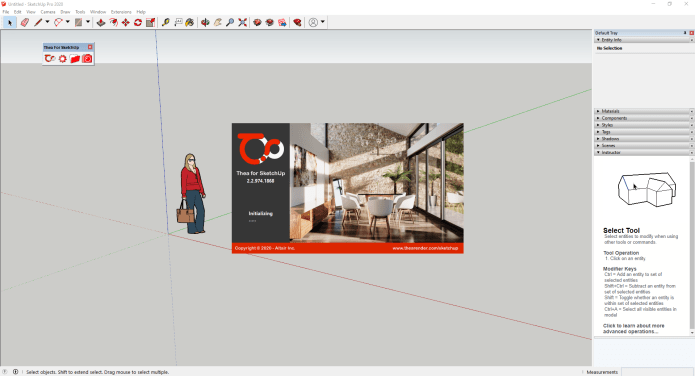 Thea For SketchUp License key