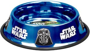 Star Wars Darth Vader And Yoda doggie bowl