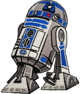 Star Wars R2-D2 Clothing Patch