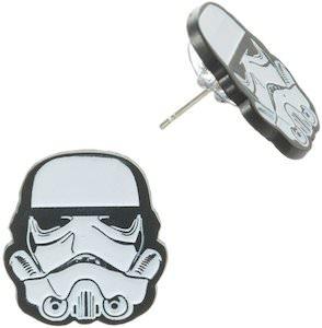Star Wars Stormtrooper helmet Earrings